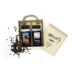 Кофе в зёрнах Эфиопия СИДАМО / ИРГАЧИФ, подарочный, 400 г