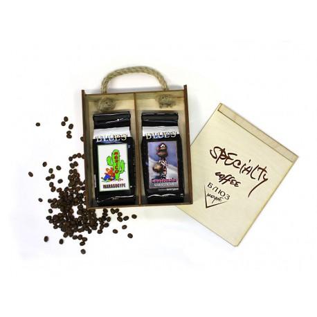 Кофе в зёрнах МАРАГОДЖИП Мексика / Гватемала, подарочный, 400 г