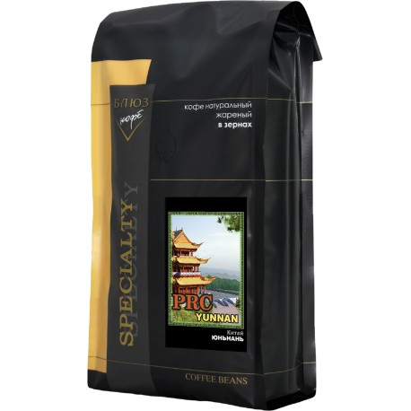 Кофе в зёрнах Китай Юньнань, 1 кг