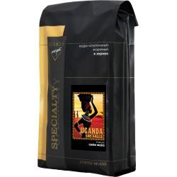 Кофе в зёрнах Уганда Сипи Фолз, 1 кг
