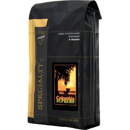 Кофе в зёрнах Колумбия СУПРЕМО, 1 кг