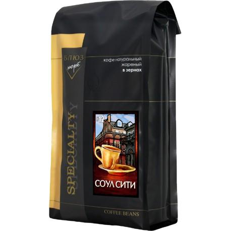 Кофе в зёрнах Эспрессо №12 Соул Сити, 1 кг