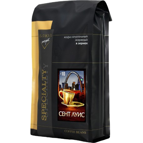 Кофе в зёрнах Эспрессо №10 Сент Луис, 1 кг