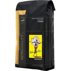 Кофе в зёрнах Бразилия МАРАГОДЖИП, 1 кг