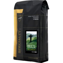 Кофе в зёрнах Бразилия БУРБОН, 1 кг