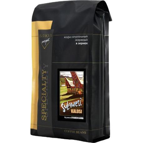 Кофе в зёрнах Индонезия СУЛАВЕСИ КАЛОСИ, 1 кг