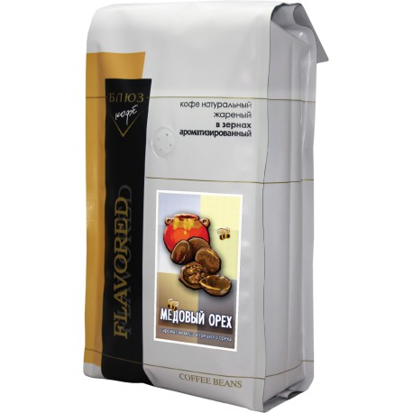 Ароматизированный кофе в зёрнах МЕДОВЫЙ ОРЕХ, 1 кг