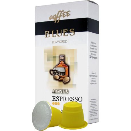 Ароматизированный кофе в капсулах Амаретто (10 шт) для к/м Nespresso