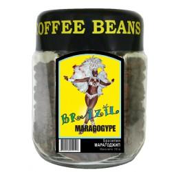 Кофе в зёрнах Бразилия МАРАГОДЖИП, 150 г