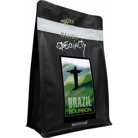 Кофе молотый Бразилия БУРБОН, 200 г