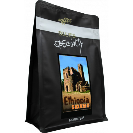 Кофе молотый Эфиопия СИДАМО, 200 г