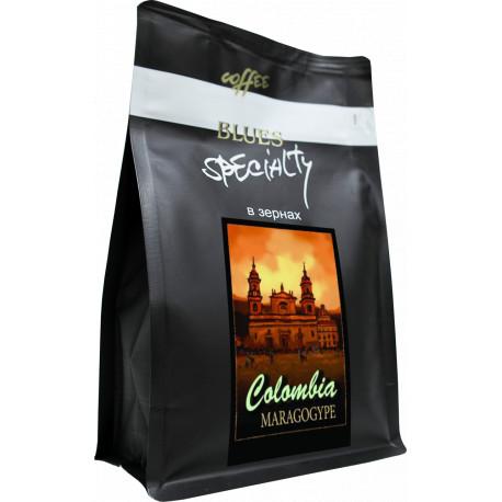 Кофе в зёрнах Колумбия МАРАГОДЖИП, 200 г