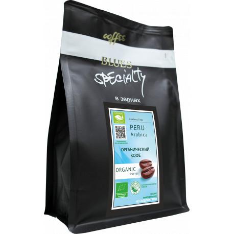 Органический кофе в зёрнах Перу, 200 г