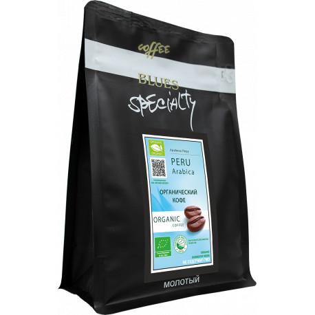 Органический кофе молотый Перу, 200 г