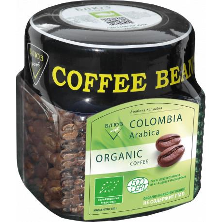 Органический кофе в зёрнах Колумбия, 150 г