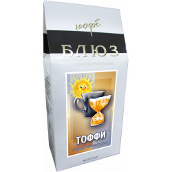 Ароматизированный кофе молотый ТОФФИ, 200 г