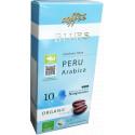 Органический кофе в капсулах Перу (10 шт) для к/м Nespresso