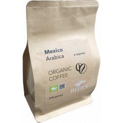 Органический кофе в зёрнах Мексика крафт, 200 г