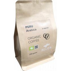 Органический кофе в зёрнах Перу крафт, 200 г