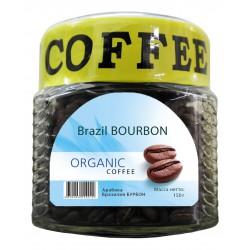 Органический кофе в зёрнах Бразилия БУРБОН, 150 г