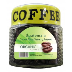 Органический кофе в зёрнах Гватемала КАМЕС, 150 г