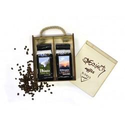 Кофе в зёрнах Эфиопия ХАРАР / ИРГАЧИФ, подарочный, 400 г